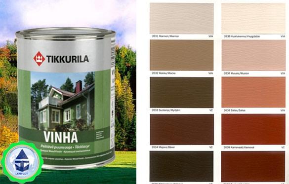 Цветовая палитка Tikkurilla